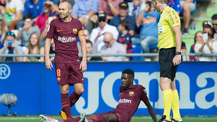 El mejor Ousmane Dembélé se reencuentra con uno de sus peores momentos en  el Barça