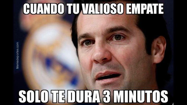 Santiago Solari, protagonista de los 'memes' del Real Madrid-Real Sociedad