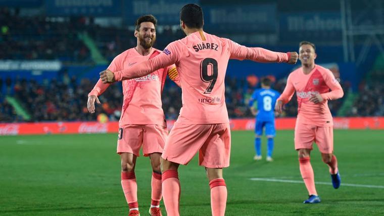 Leo Messi y Luis Suárez marcan más... ¡Que todo el Real Madrid!