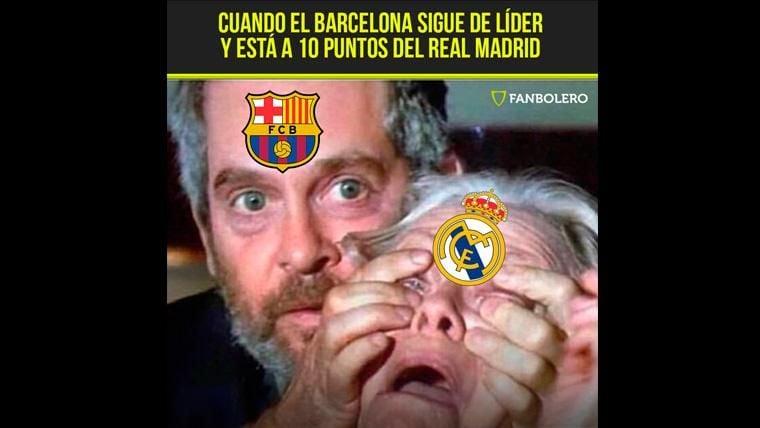 El Real Madrid, protagonista de los 'memes' del Getafe-FC Barcelona