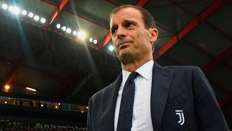 Massimiliano Allegri, técnico de la Juventus
