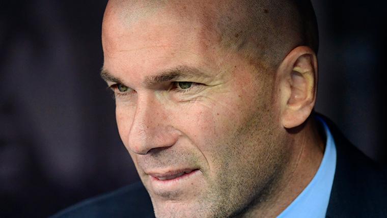 Zinedine Zidane huyó del Real Madrid