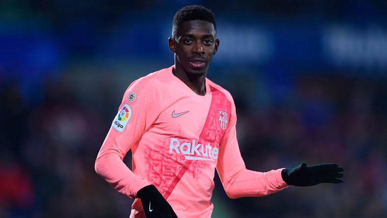 Ousmane Dembélé tuvo una gran actuación ante el Getafe