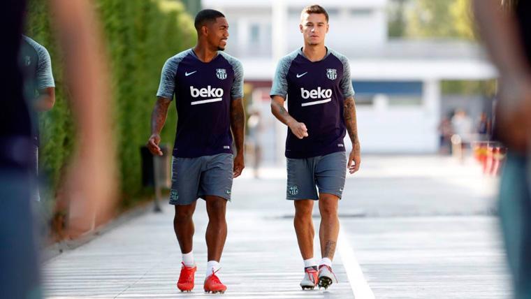 Tremendo enfado del Barça por los rumores sobre Coutinho y Malcom