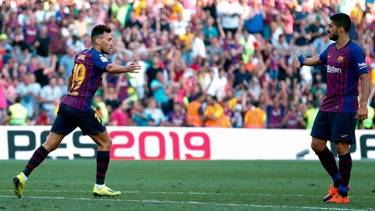 El Barça se plantea dejar libre a Munir en este mismo mes de enero