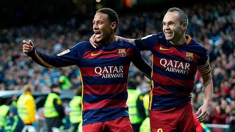 Iniesta, contundente al hablar del posible regreso de Neymar