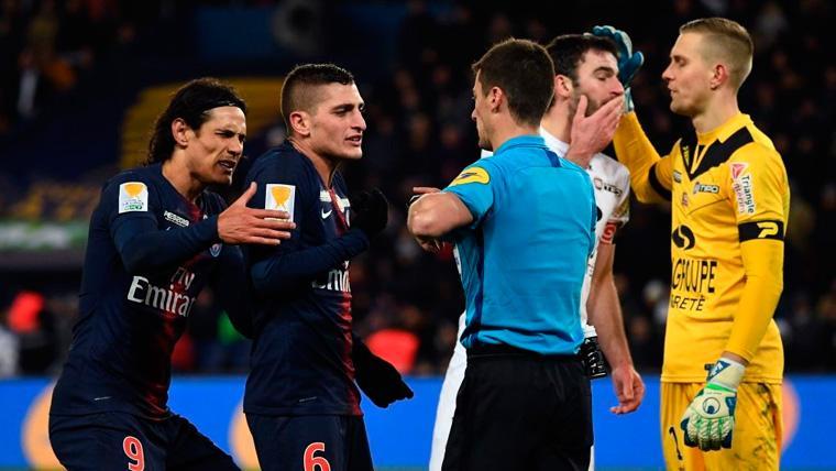 PSG eliminado de la Liga Francesa con todo y Neymar