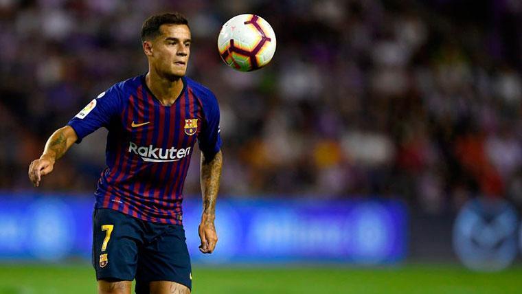 Serio toque de atención del Barcelona a Philippe Coutinho