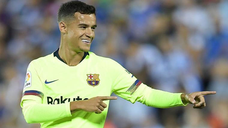 ¡Gol de Coutinho para 'salvar' la eliminatoria y el récord goleador del FC Barcelona!