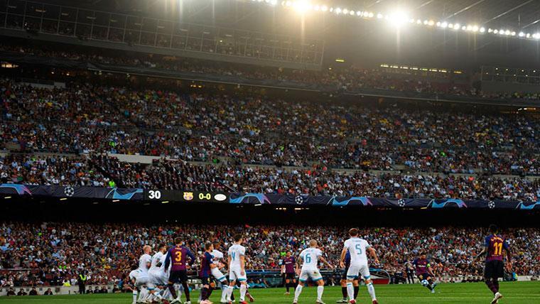El Camp Nou, escenario de remontadas