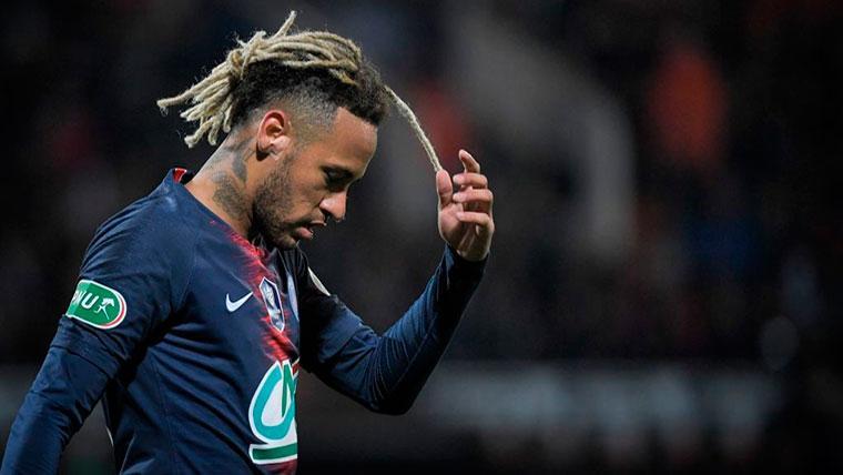 Neymar, arrepentido de su 'fuga'