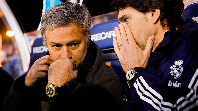 Mourinho y Karanka, sin equipo