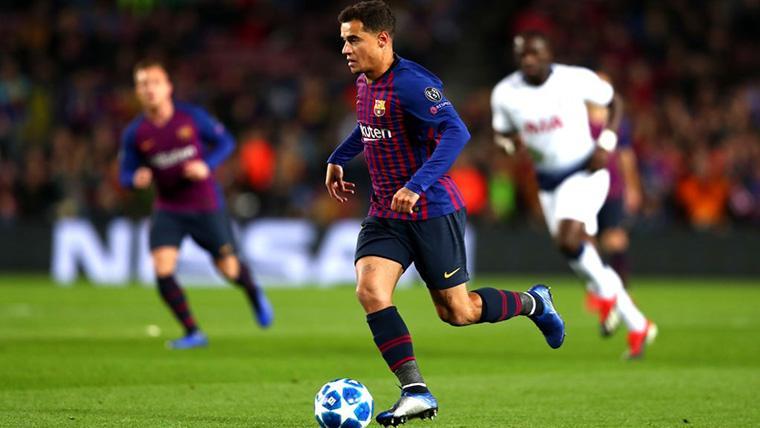 Coutinho toma una decisión sobre si dejar o no el Barcelona