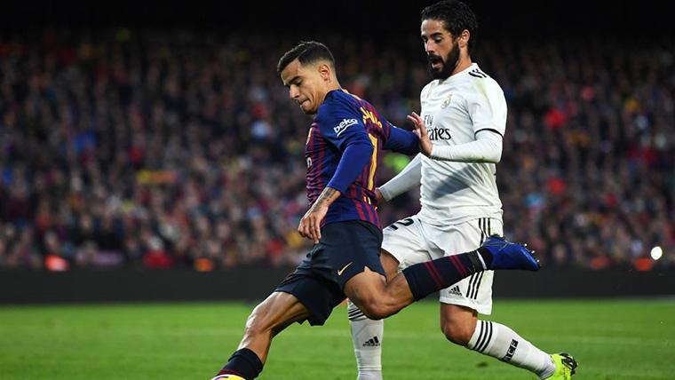 Gran paralelismo entre los casos de Isco y Coutinho en Real Madrid y FC Barcelona