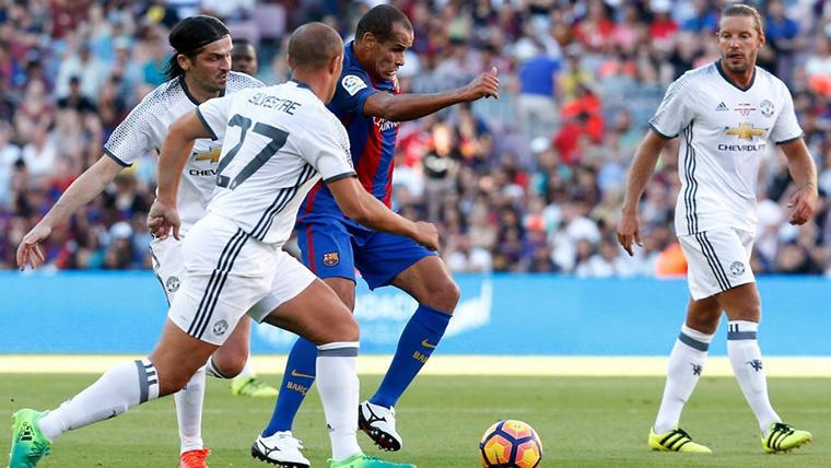 Rivaldo vuelve a discutir los últimos fichajes del FC Barcelona