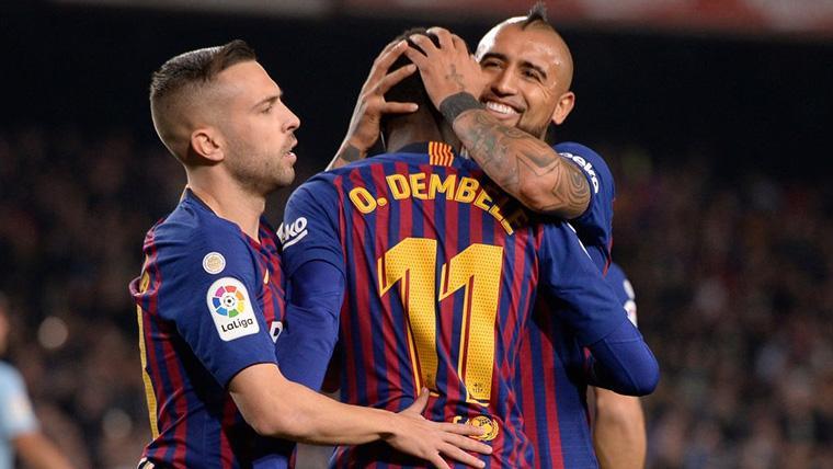 Dembélé, 'intocable' en las alineaciones del FC Barcelona