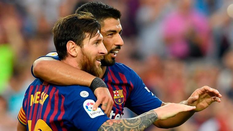 El Eibar teme a Leo Messi y Luis Suárez... Más que a Ronaldo Nazario
