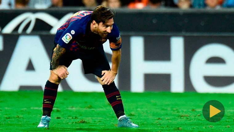 """VIRAL: Pernía explica su sufrimiento en un regate de Messi: """"Aún no sé qué me hizo"""""""