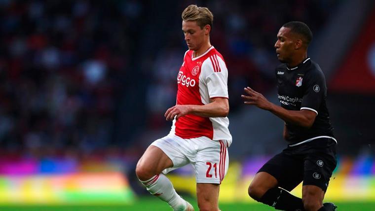 El Tottenham hará un intento a la desesperada para convencer a De Jong