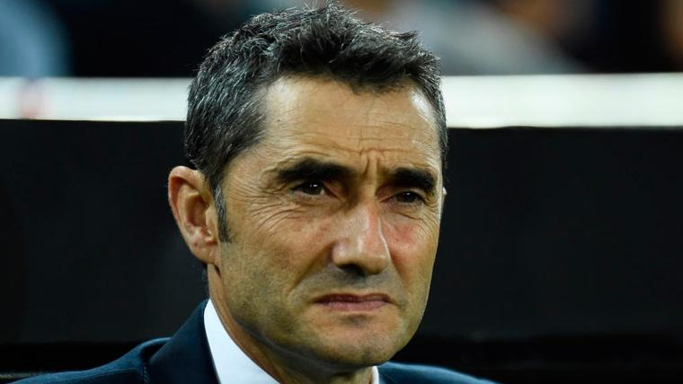 ¡Valverde no celebró el primer gol de Luis Suárez frente al Eibar!