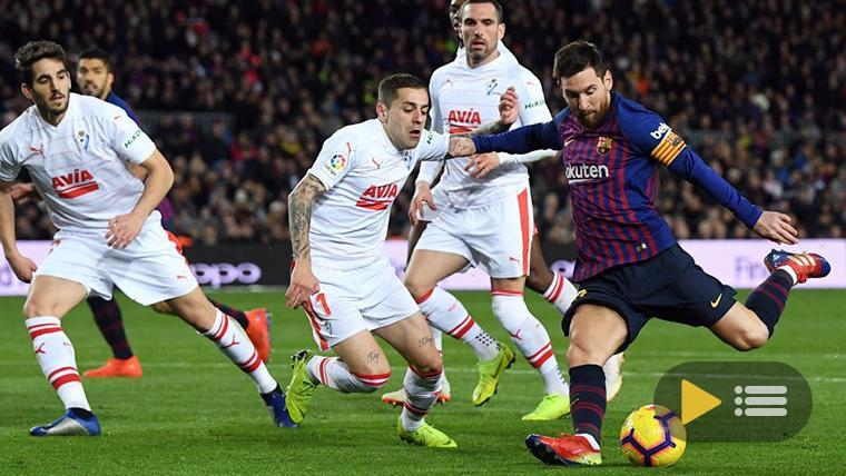 Vídeo resumen: FC Barcelona 3 Eibar 0 (LaLiga J19)