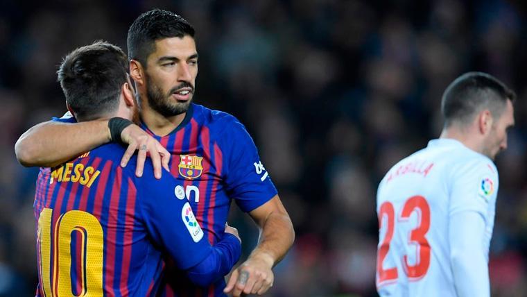 ¡Ningún equipo marca más que la pareja Messi-Suárez en LaLiga 2018-19!