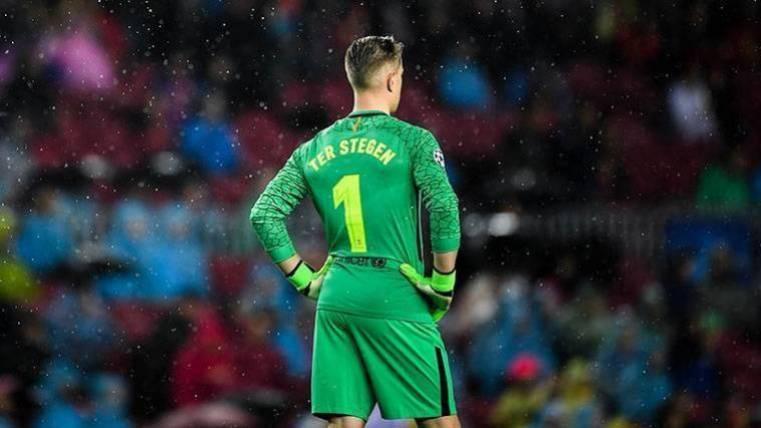 El mensaje de Ter Stegen a Leo Messi tras el partido ante el Eibar