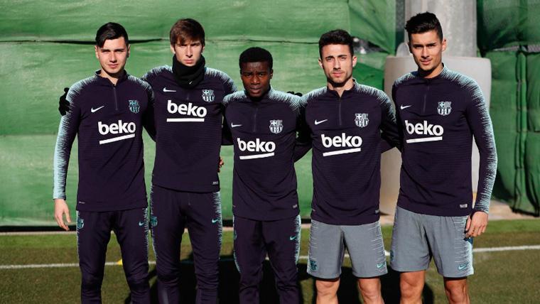 Ernesto Valverde ya trabaja con uno de los delanteros del filial