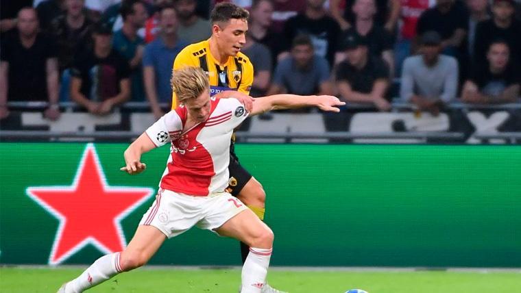 Los argumentos que el Barcelona transmitió a De Jong para convencerlo