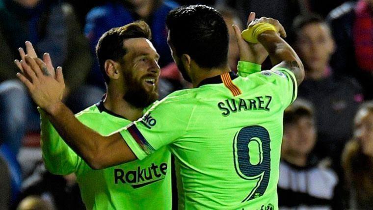 Leo Messi y Luis Suárez encuentran a sus mejores aliados
