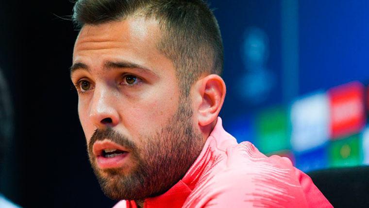 Jordi Alba lanza la indirecta más directa a Bartomeu por su renovación