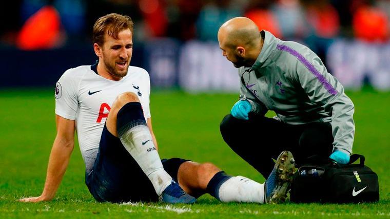 Alerta máxima en el Tottenham por la lesión de Harry Kane