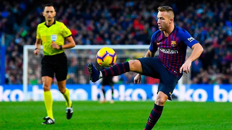 Arthur es el mejor argumento del Barça para convencer a De Jong