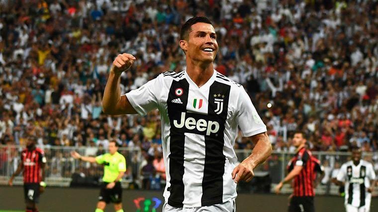 Cristiano Ronaldo sentencia la Supercoppa (1-0) y gana su primer título con la Juventus