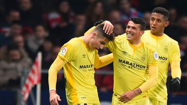 Un rival menos para el Barça: El Girona echa al Atlético de la Copa