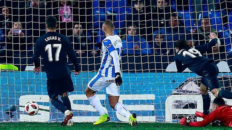 El Real Madrid pasa a cuartos, pero roza el ridículo ante el Leganés