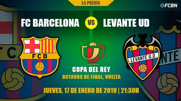 El once de gala, al rescate del Barça ante el Levante en Copa