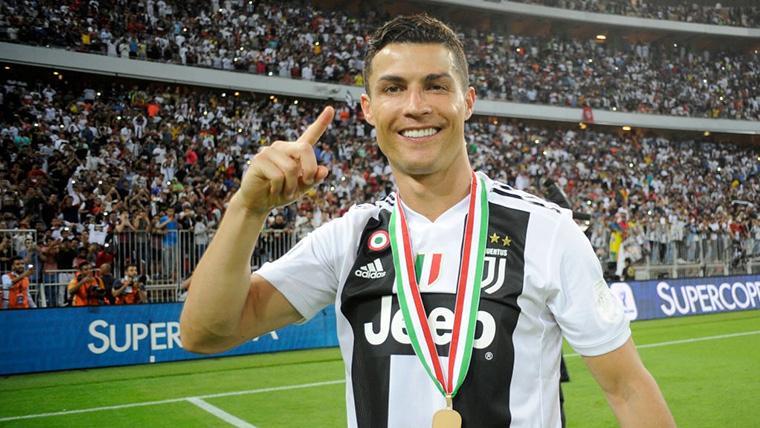 Dedicatoria de Cristiano Ronaldo tras marcar su gol más importante con la Juventus