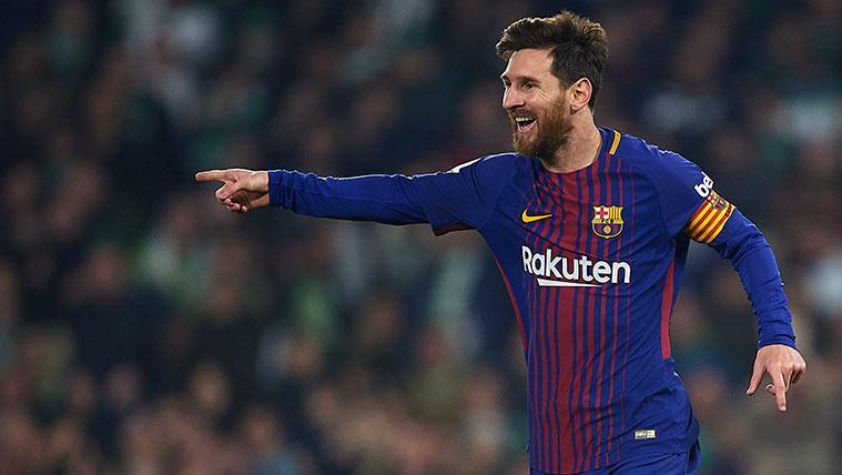 Con Luis Suárez descansando, Leo Messi es la clave para liderar el tridente del Barça