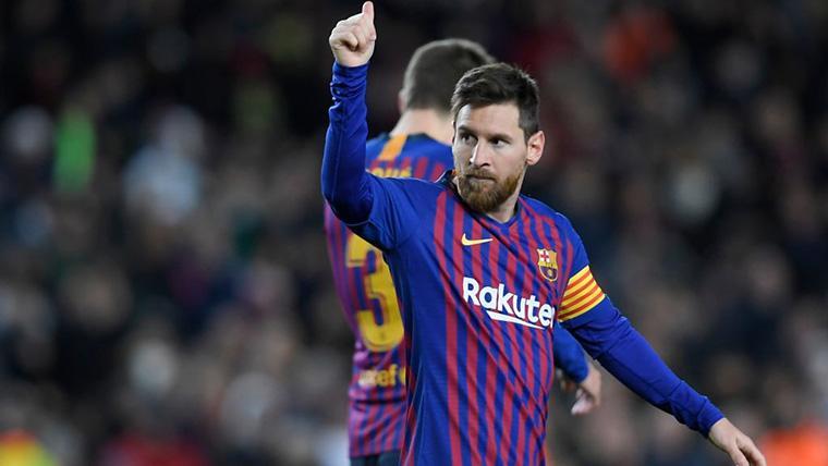 ¡Y Messi sentenció! Toque sutil para disparar al Barça en Copa