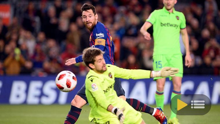 Vídeo resumen: FC Barcelona 3 Levante 0 (Copa del Rey)