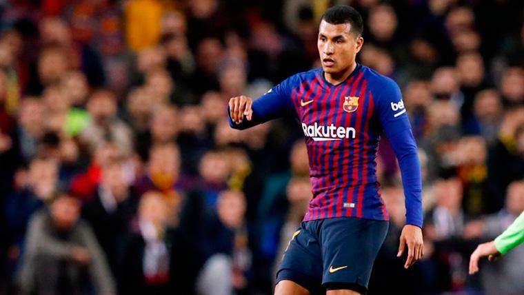 Así fue el debut de Jeison Murillo con el Barça en el Camp Nou