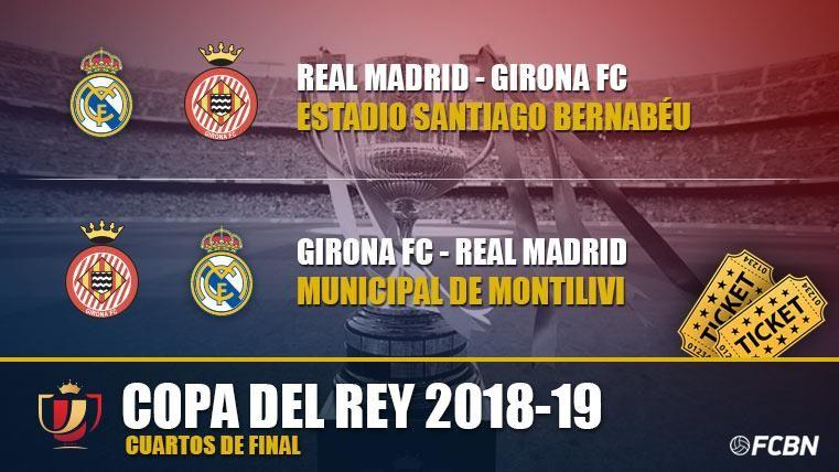 Entradas Real Madrid vs Girona - Copa del Rey 2018-2019