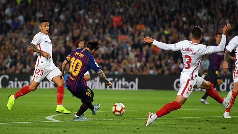 Leo Messi vuelve a cruzarse con el Sevilla, el club al que más goles ha marcado (32)