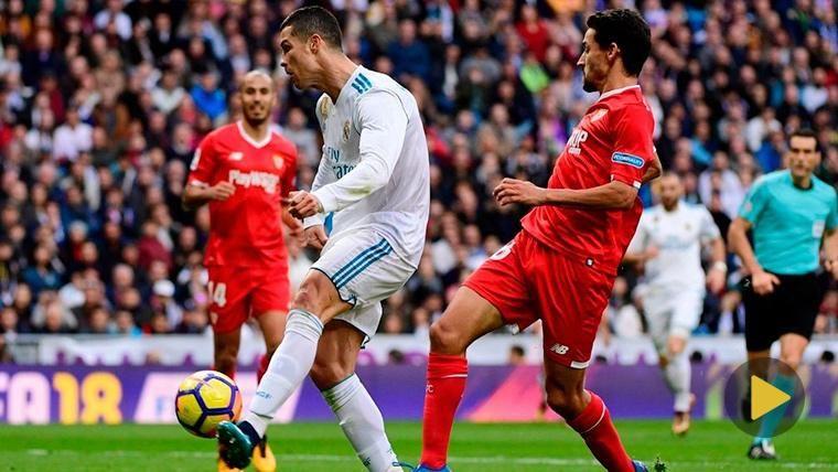 El montaje del Real Madrid para 'olvidar' los goles de Cristiano Ronaldo al Sevilla