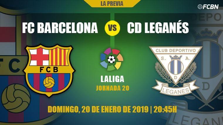 El Barcelona, obligado a vencer al Leganés para mantener su ventaja en Liga