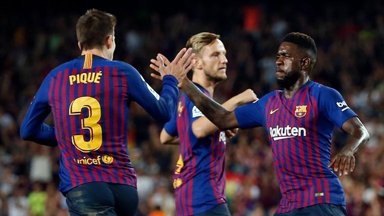 El Barça recupera a Vermaelen y Samper, pero no hay noticias de Samuel Umtiti