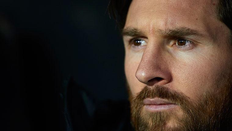 El motivo de la suplencia de Leo Messi frente al Leganés