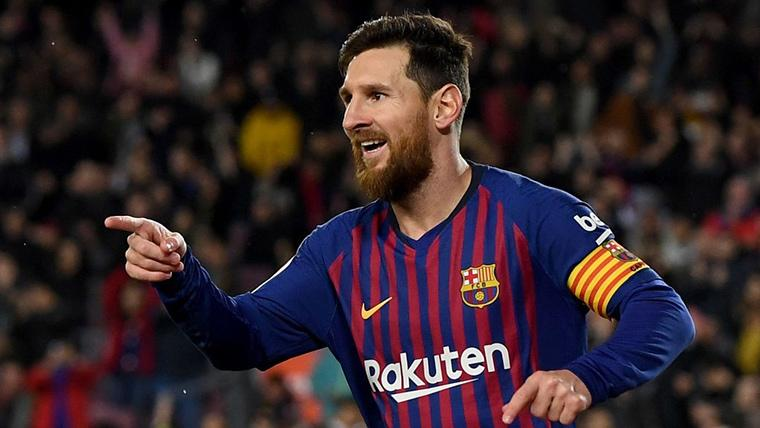 Leo Messi, el 'rey' salvador del Barça para sentenciar al Leganés
