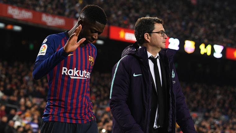 ÚLTIMA HORA: Primer comunicado del FC Barcelona sobre la lesión de Ousmane Dembélé